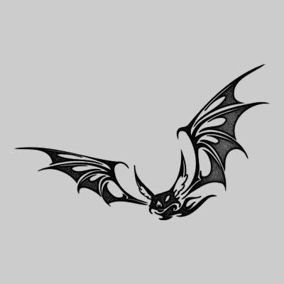 bat tattoo images designs