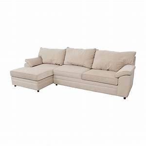 33 off bob39s furniture bob furniture off white right for Bob s white sectional sofa