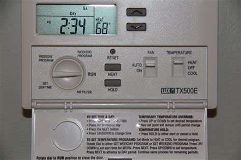 tx500e thermostat wiring diagram 500 thermostat