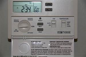 Installing A Lux Programmable Thermostat