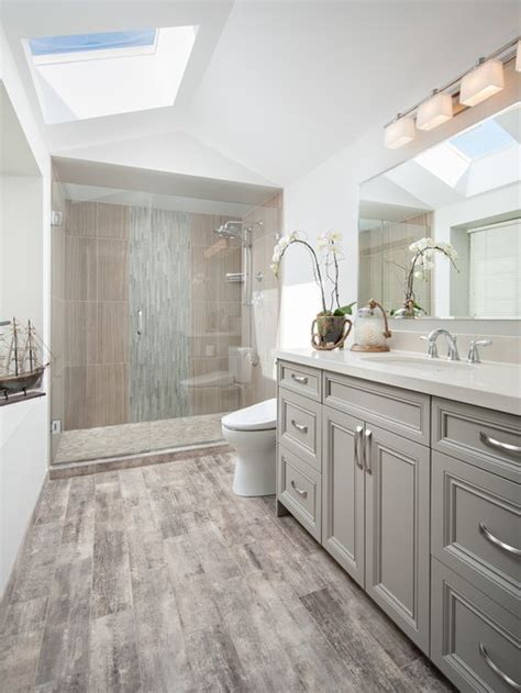 Ideas For Gray Bathroom by Transitional Bathroom Ideas Designs Remodel Photos Houzz