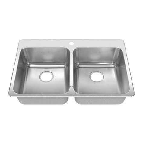 38 inch kitchen sink american standard 17db 332211 290 prevoir 33 38 inch 3885