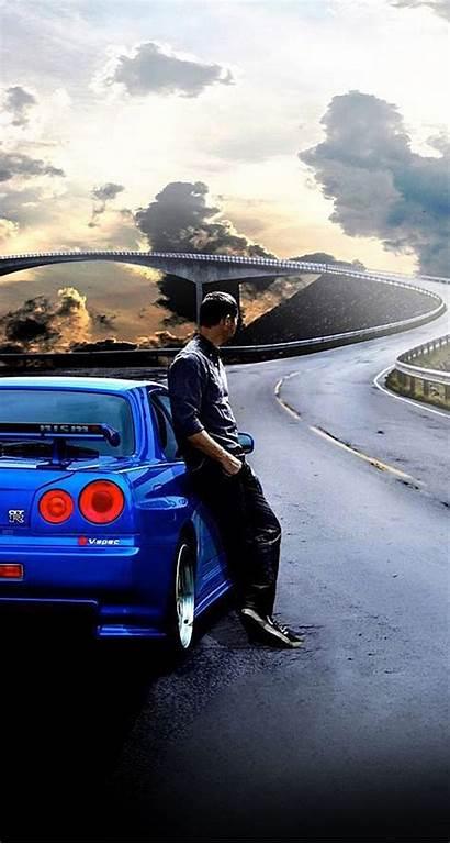 Furious Fast Paul Wallpapers Walker Iphone Skyline