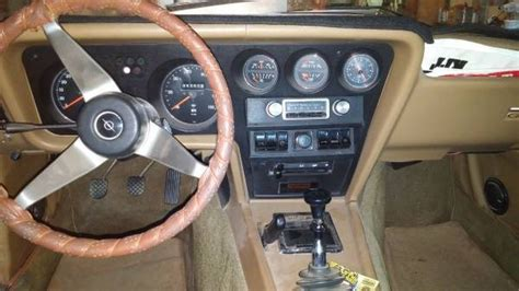Opel Gt Interior by The One To Buy 1973 Opel Gt