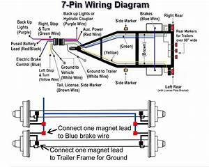 7 Wire Trailer Diagram  7  Free Engine Image For User