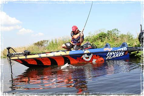 Fishing Boat Bass Pro by Bass Fishing Tips From Kellogg S Frosted Flakes Pro Dave