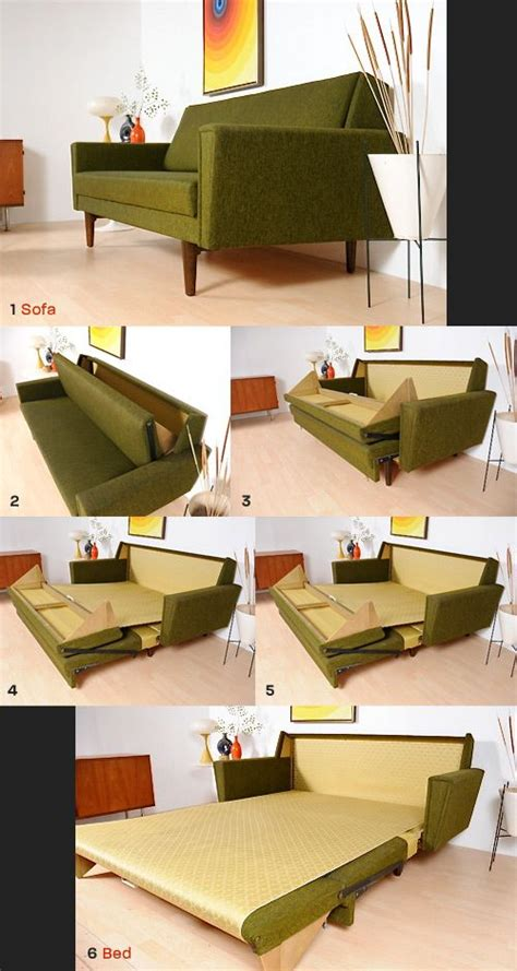Apartment Sofa Beds by Mid Century Modern Sofa Bed Folding Bed Small Apartment