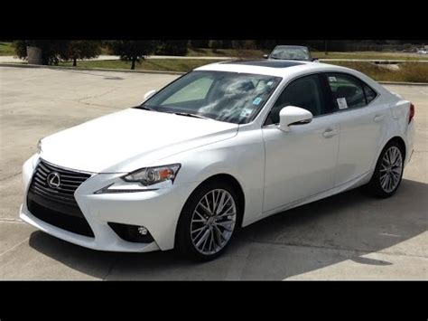 2007 lexus is250 start up engine and full 2015 lexus is 250 full review start up exhaust youtube