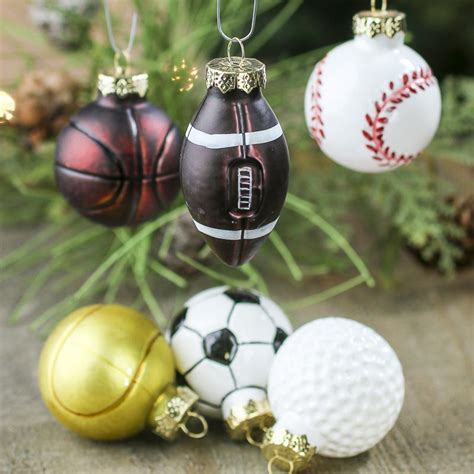 assorted sport ball christmas ornaments christmas