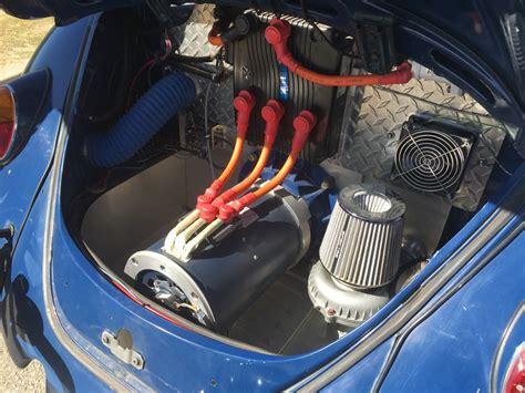 image  volkswagen beetle ebug electric car