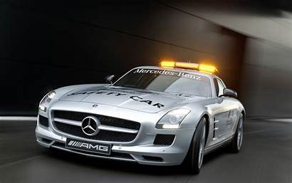 Amg Mercedes Sls F1 Safety Benz Wallpapers