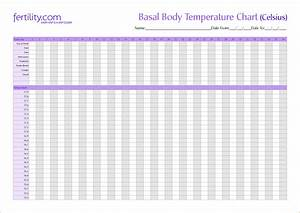 blank basal body temperature chart celsius blank basal With basal body temperature chart template