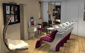 Aménagement D Un Salon : am nagement d 39 un salon nature chic vert et prune ~ Zukunftsfamilie.com Idées de Décoration