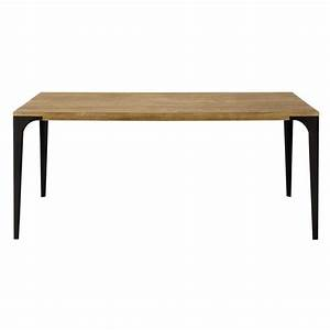 solid mango wood dining table w 180cm metropolis maisons With table a manger vintage