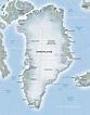Map of Greenland - SWmaps.com