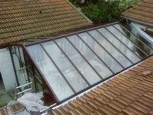 Defi métallerie Mise en place de toitures de vérandas