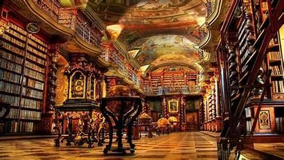 Library Czech Republic Libraries Prague Klementinum National