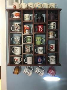 My, Mug, Collection, And, Homemade, Display, Shelf, Muglife