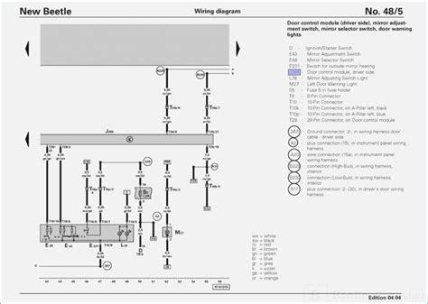 2000 vw new beetle wiring diagram dogboi info