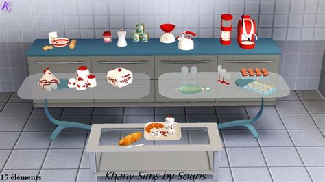 sims 3 cuisine totally sims 3 updates decorations kitchen 15 items