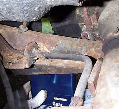 change gearbox oil   vw beetle