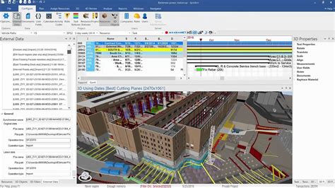 synchro pro 4d bim construction scheduling and project