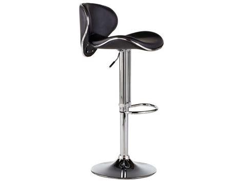 chaise de bar conforama tabouret de bar shoko coloris noir vente de chaise de