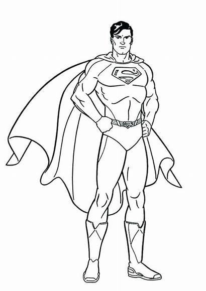 Superman Coloring Pages Printable Getcolorings Pa Getdrawings