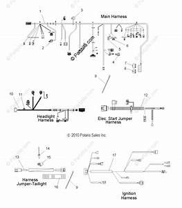 Polaris Snowmobile 2011 Oem Parts Diagram For Electrical