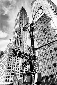 Bild New York Schwarz Weiß : poster wolkenkratzer in new york chrysler building schwarz wei ~ Bigdaddyawards.com Haus und Dekorationen