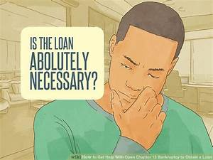 How to Get Help With Open Chapter 13 Bankruptcy to Obtain a Loan  onerror=