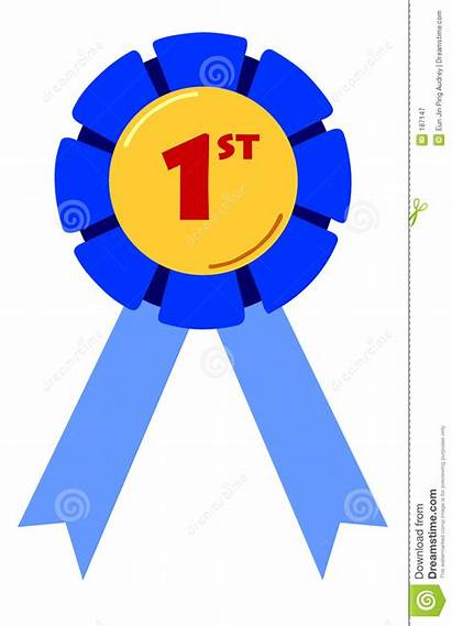 Clipart Second Third Ribbon Placing Royalty Place