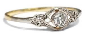 diamant verlobungsring antiker verlobungsring diamant ring jugendstil um 1910 solitär gold platin ebay