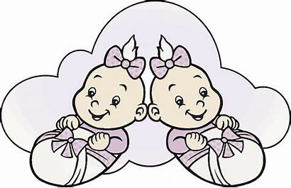 Cartoon Babies Clipart Vector Twins Boy Cliparts