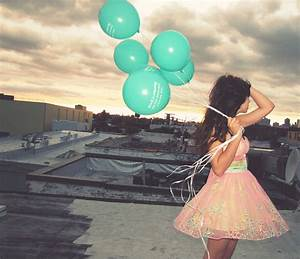 Girl With Balloons Pictures, Photos, and Images for ...