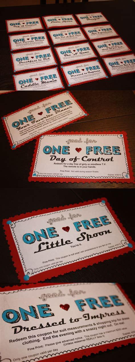 coupons  boyfriend valentines day pinterest