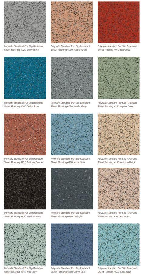Polysafe Standard Pur Slip Resistant Sheet Flooring