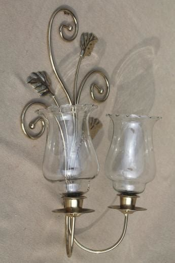 wall candle sconces gold metal candle holder
