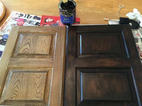 java gel stain  darker  outdated maple bathroom