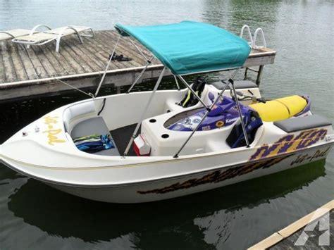 Jet Ski Sport Deck Boat by 1998 Jet Pal Jet Ski Shuttlecraft For Sale In Lenoir