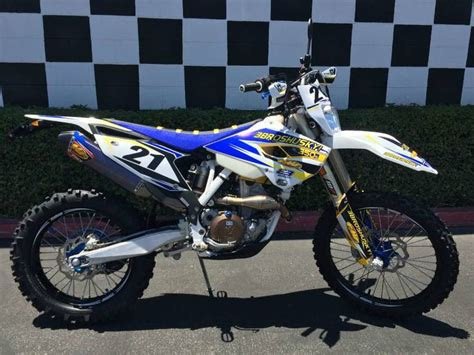 Husqvarna Fe 350 Photo by 2015 Husqvarna Fe 350 S 3bros Edition Motorcycle From