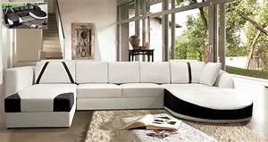 Canape D Angle Meridienne : canap angle en cuir vachette blanc canap gamme canap d angle de venesetti venesetti canap ~ Teatrodelosmanantiales.com Idées de Décoration