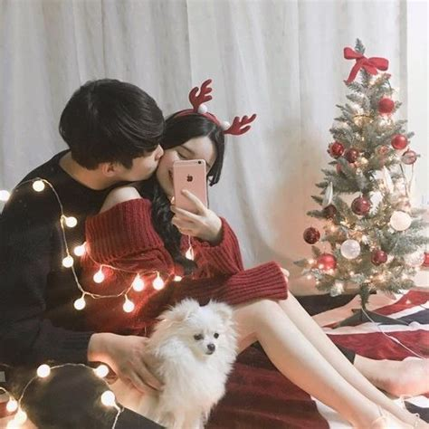 cute couple christmas montage taehyung