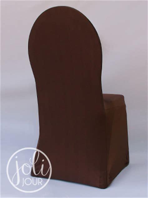 location housse de chaise lyon location housses de chaise marron chocolat en lycra