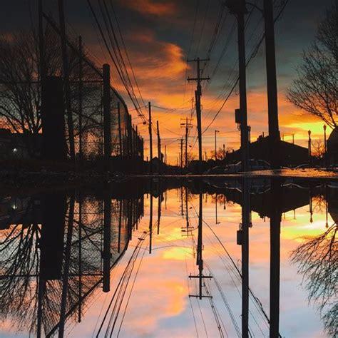 tips  capturing amazing iphone puddle reflection  reflection photography