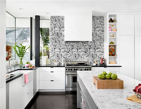 interior designer kitchen kitchen wallpaper ideas wall decor that sticks