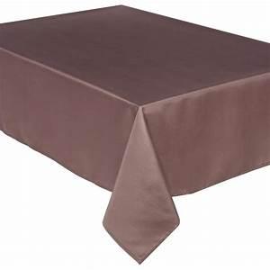 Produit Anti Taupe : nappe anti t che 140x240cm taupe ~ Premium-room.com Idées de Décoration