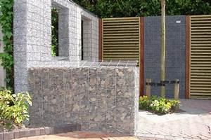 Cloison Jardin Anti Bruit : dco nature services et produits du paysage gabion et mur ~ Edinachiropracticcenter.com Idées de Décoration