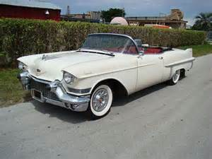 White 1957 Cadillac Convertible for Sale