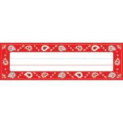 Red Bandana Border Clip Art